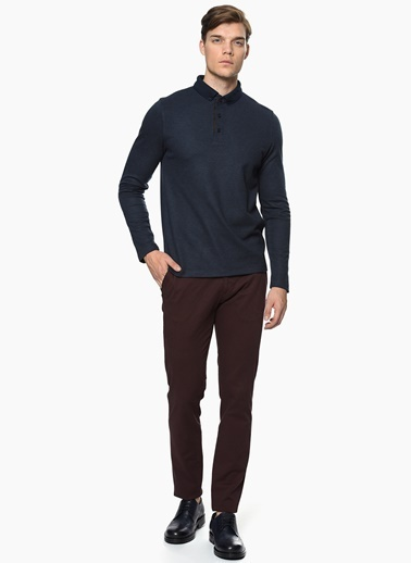George Hogg Slim Fit Pantolon Mürdüm